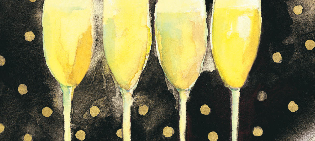 Champagne Art Prints