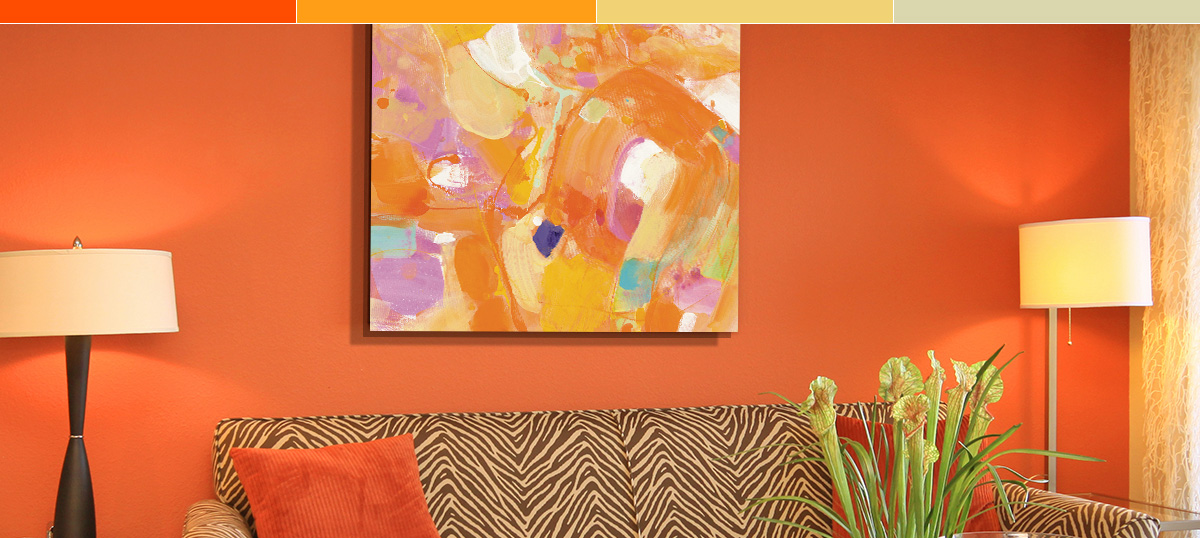 Citrus Orange Canvas Art