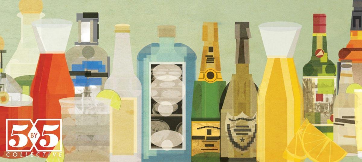 Classic Cocktails Canvas Prints | iCanvas