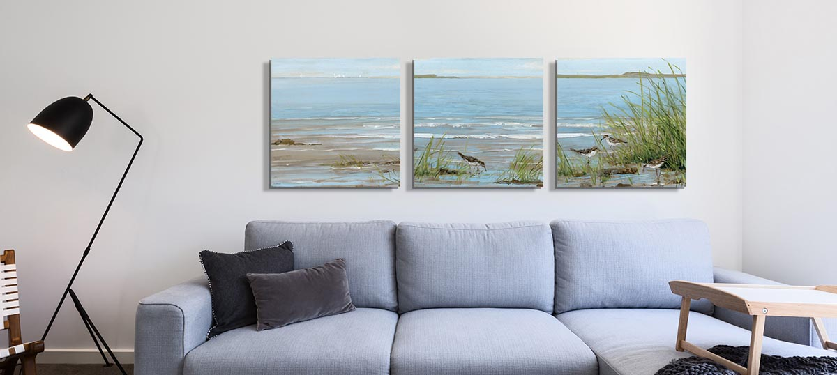 Coastal Canvas Art