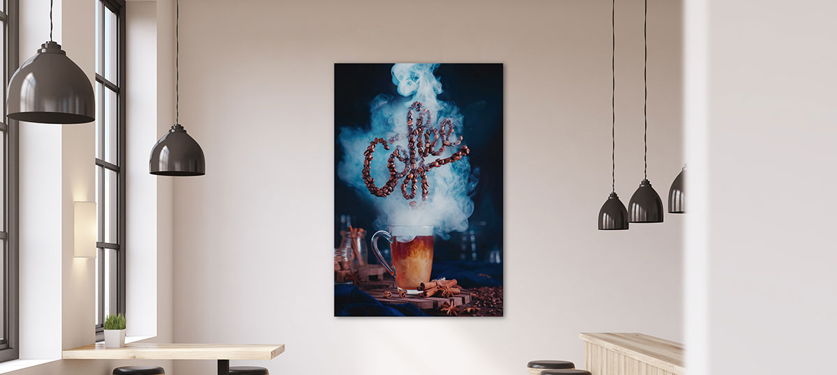 Coffee Shop & Cafe Canvas Prints