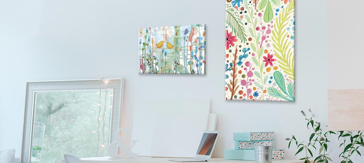 Colorful Spring Canvas Prints
