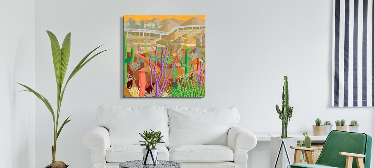 Contemporary Southwest Canvas Prints