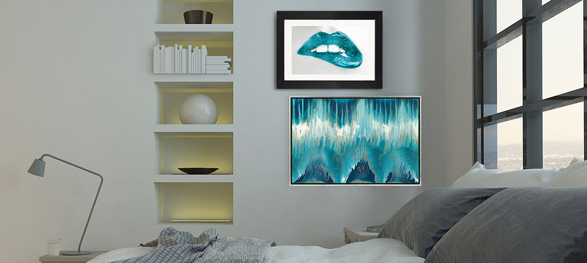 Cool Blue Hues Art Prints
