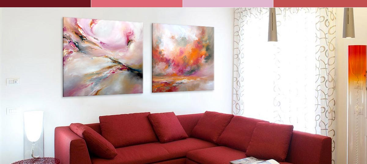 Copper & Rose Canvas Art Prints