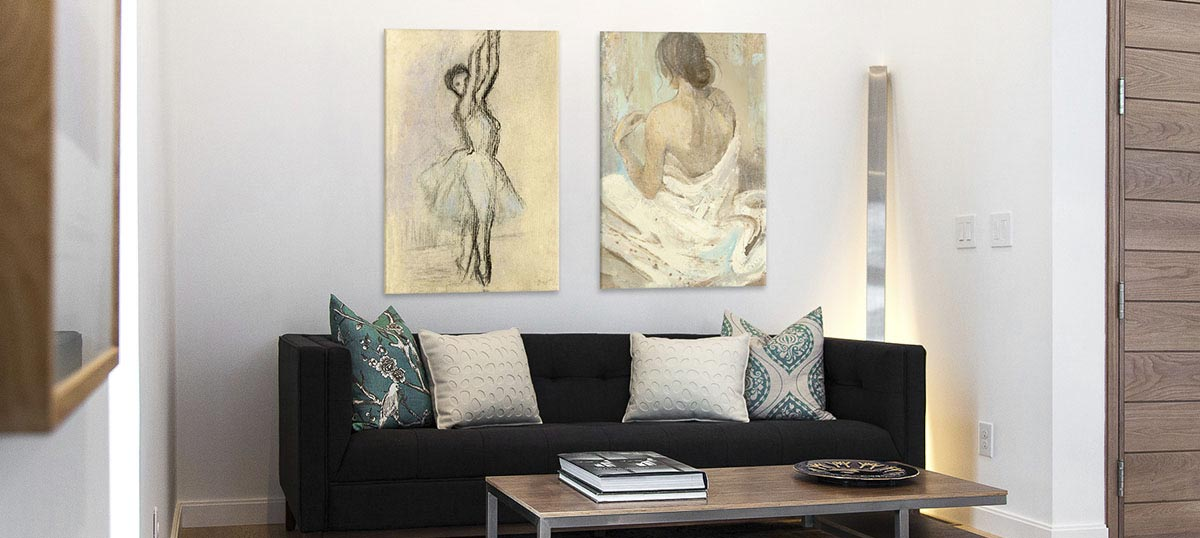Cream Canvas Prints
