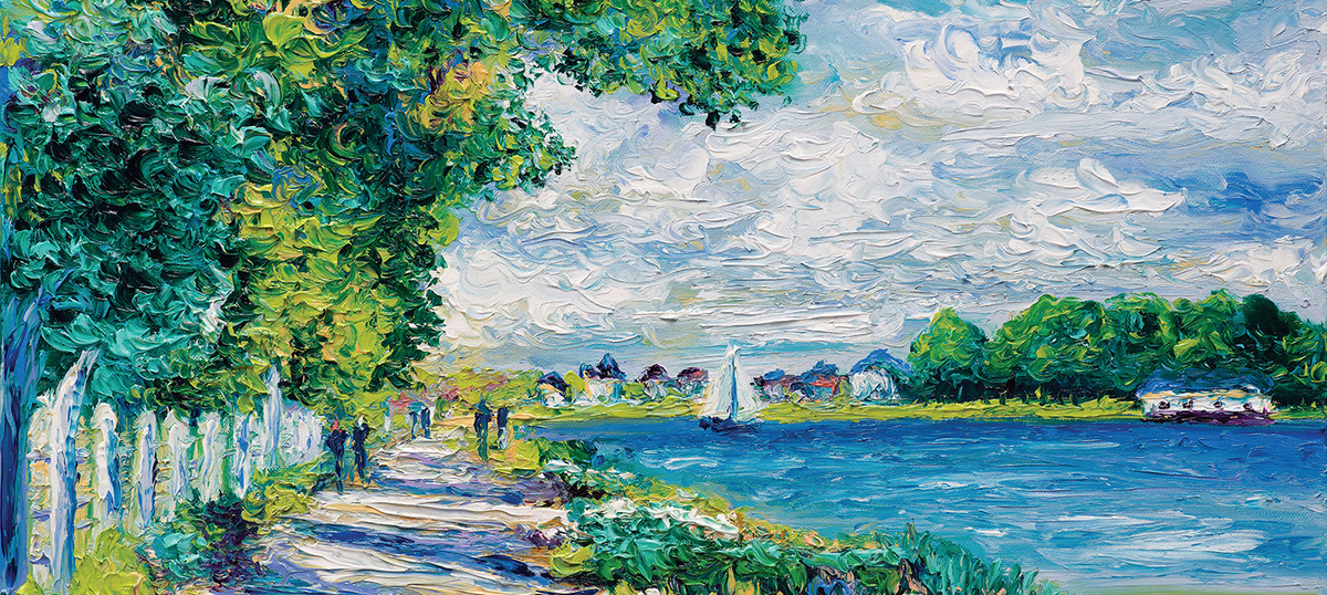 Current Day Impressionism Canvas Wall Art