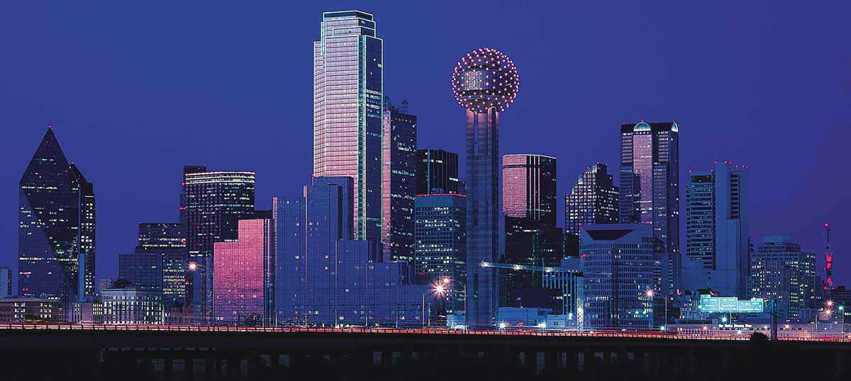 Dallas Canvas Wall Art