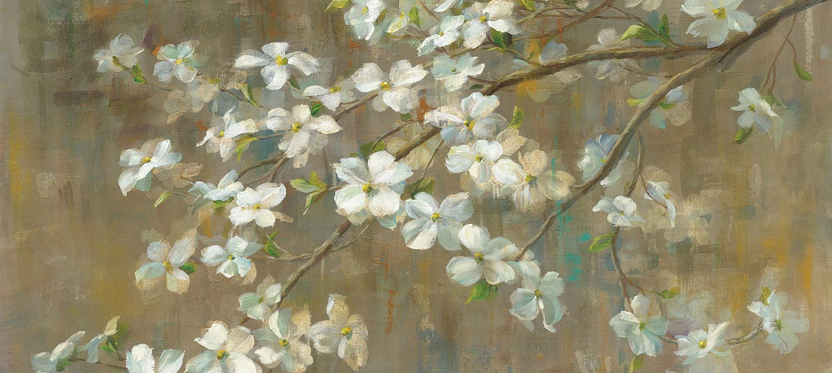 Dogwood Canvas Art