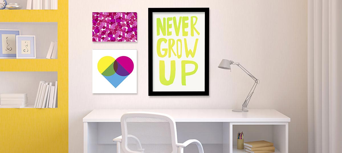Bold & Bright Canvas Wall Art