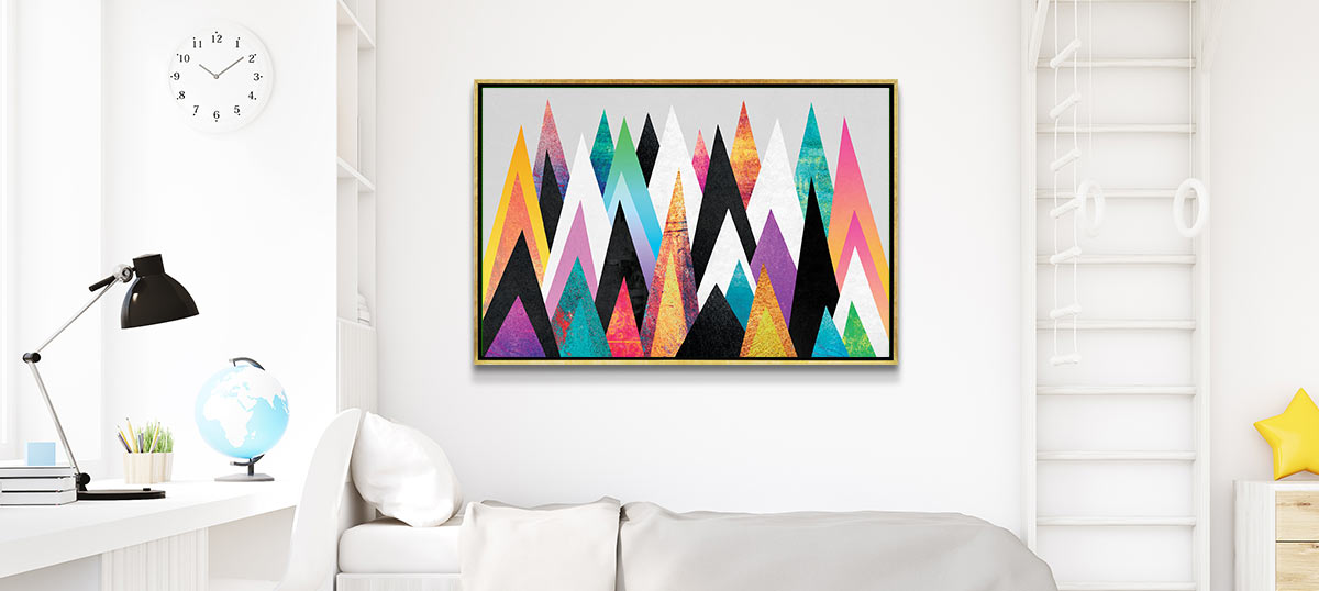 Pop of Color Canvas Prints