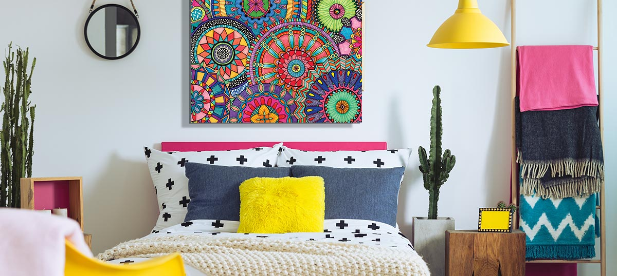Eclectic Canvas Art Prints