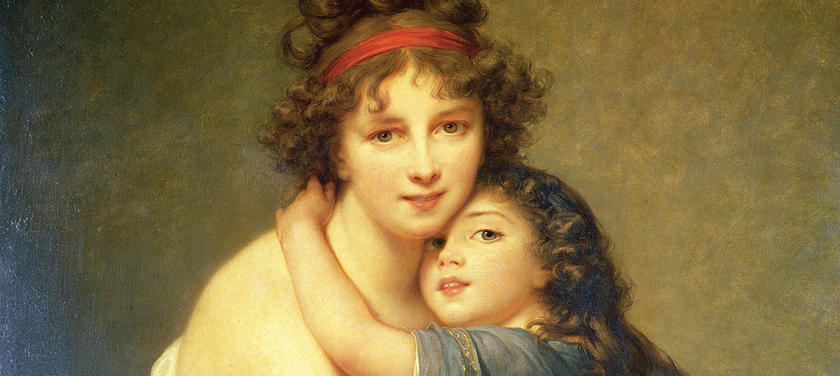 Elisabeth Louise Vigee Le Brun Canvas Prints