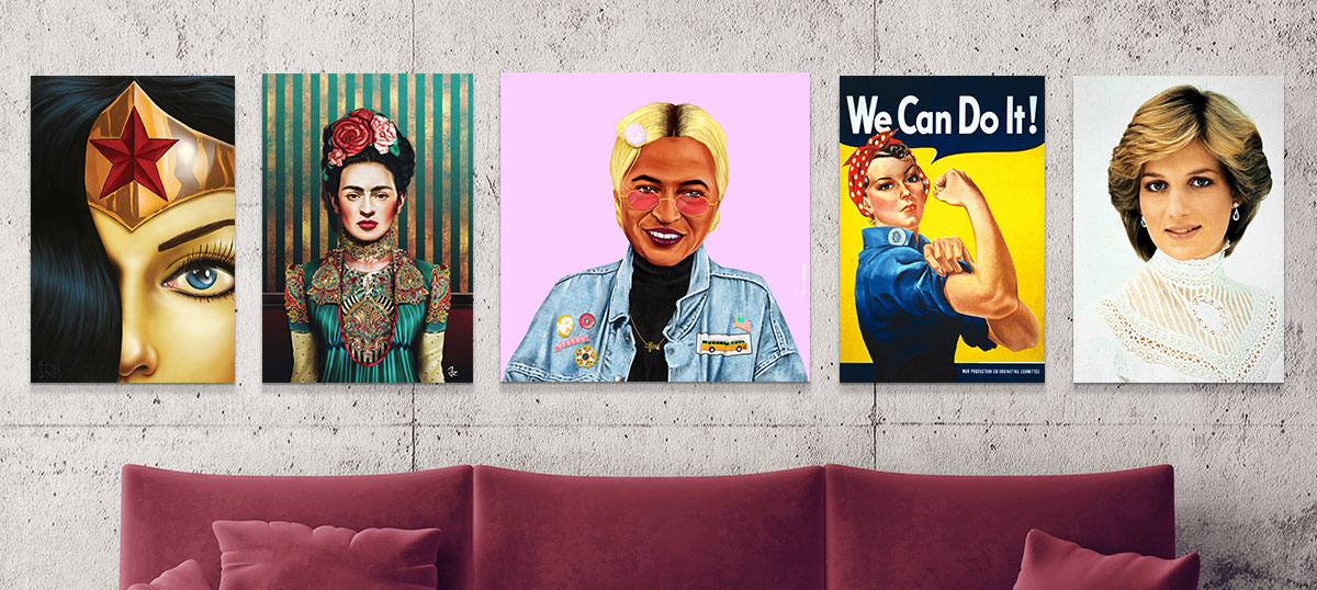 Empowered Women Canvas Artwork