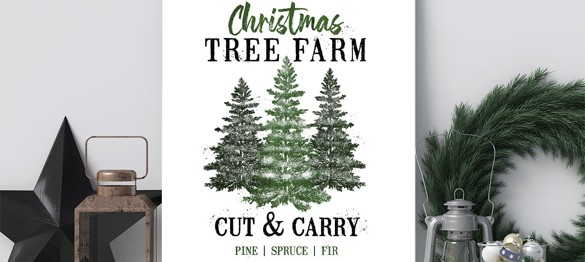 Farmhouse Festive Canvas Prints