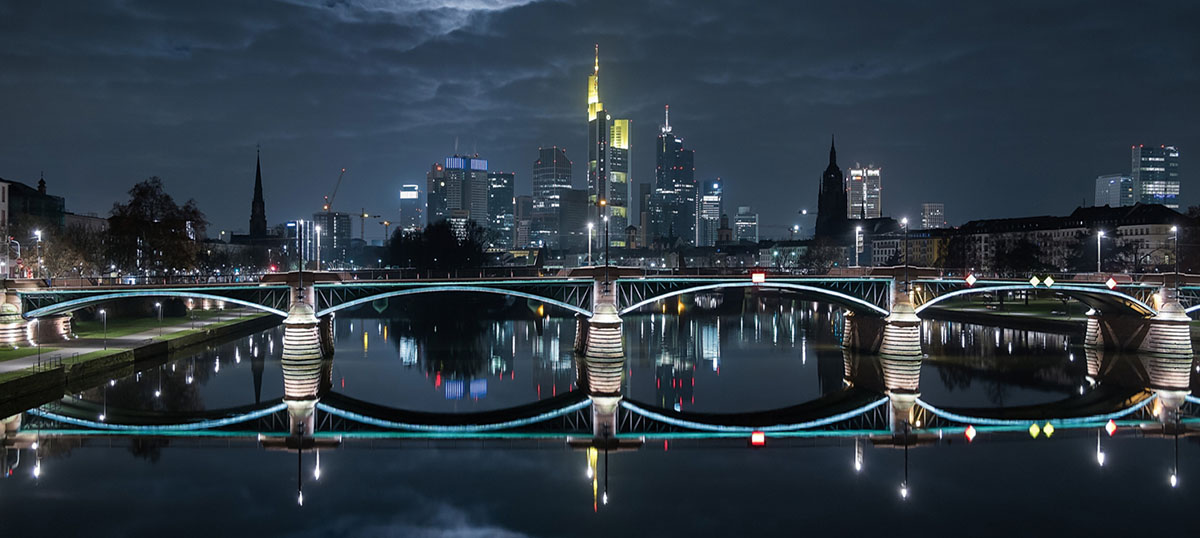 Frankfurt Canvas Artwork