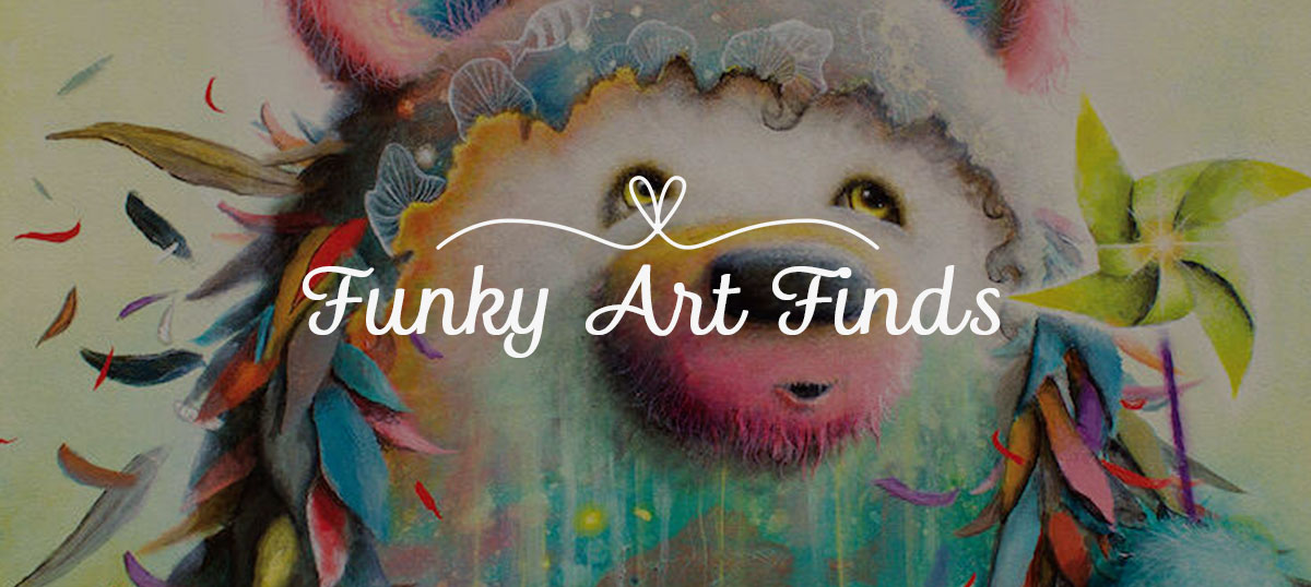 Funky Art Finds Art Prints