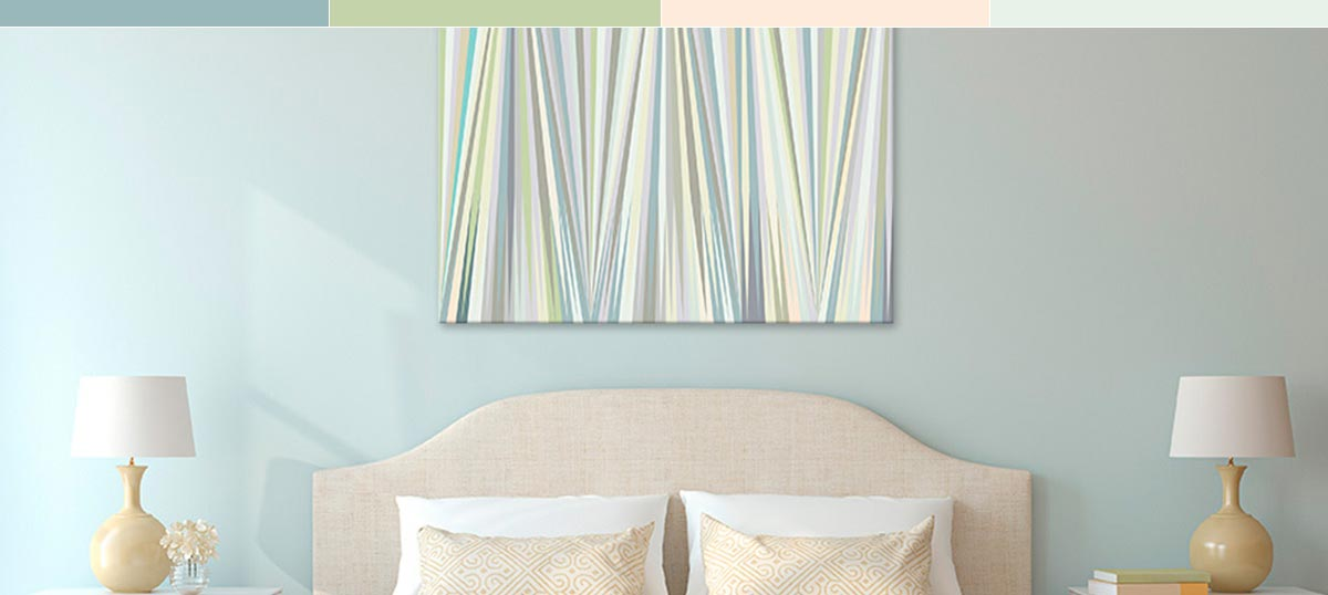 Gentle Pastels Canvas Prints