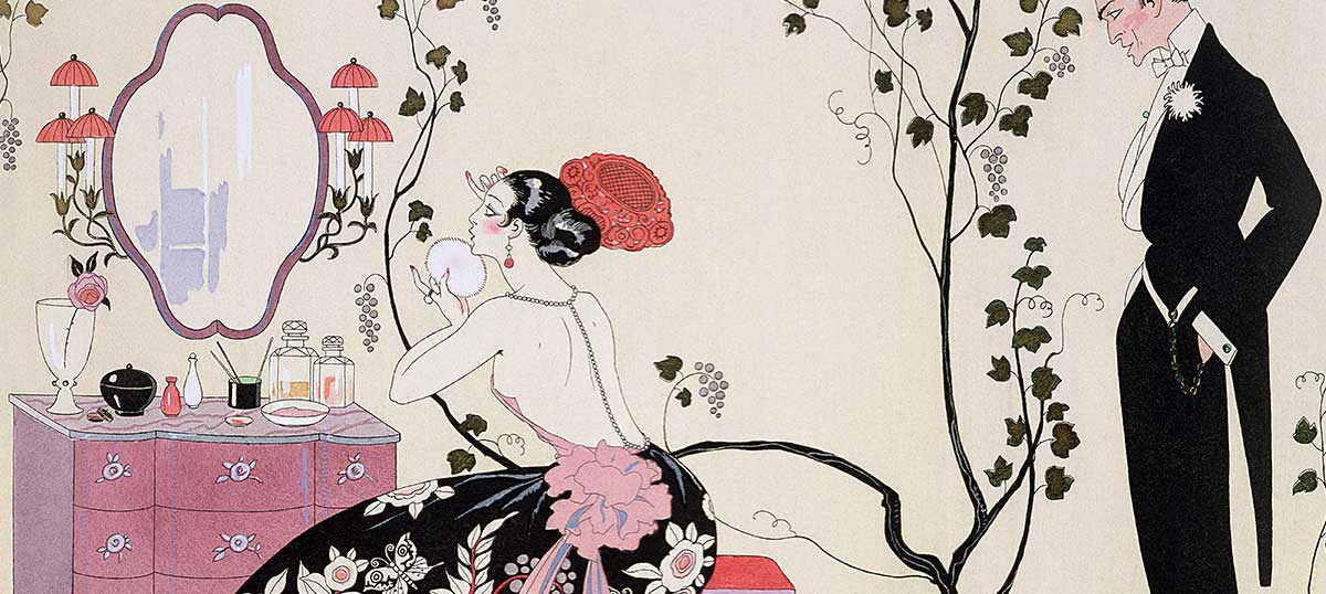 Georges Barbier Canvas Wall Art