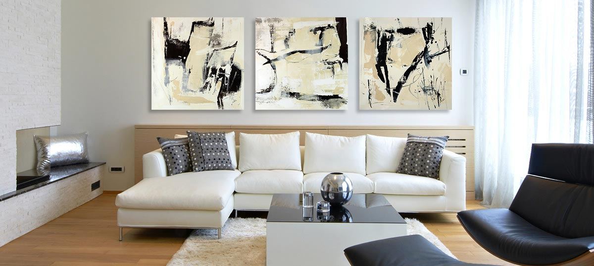 Canvas Art Sets - Canvas Wall Art For a Huge Wall