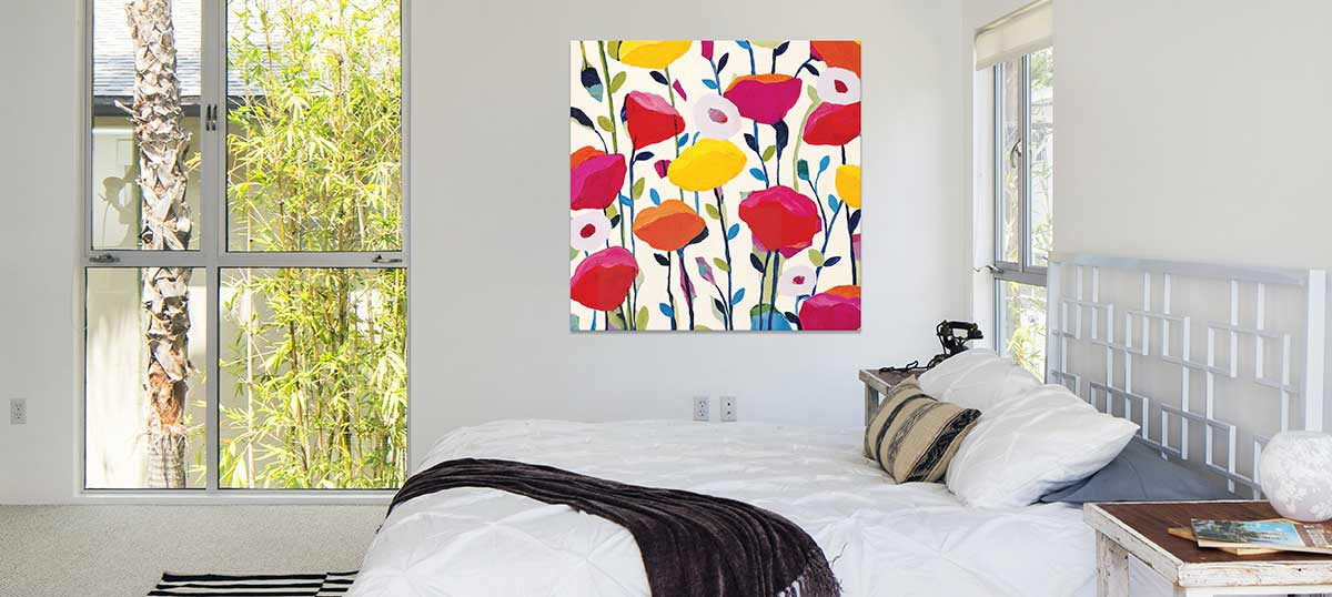 Big Botanicals Canvas Art