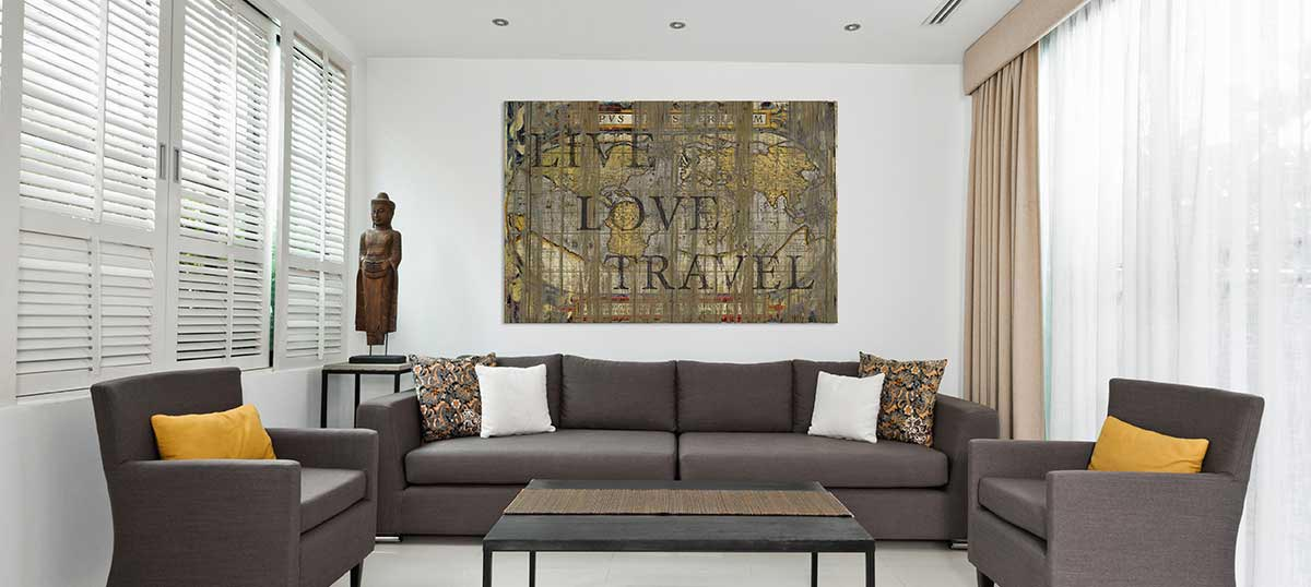 Giant Decorative Art Canvas Wall Art