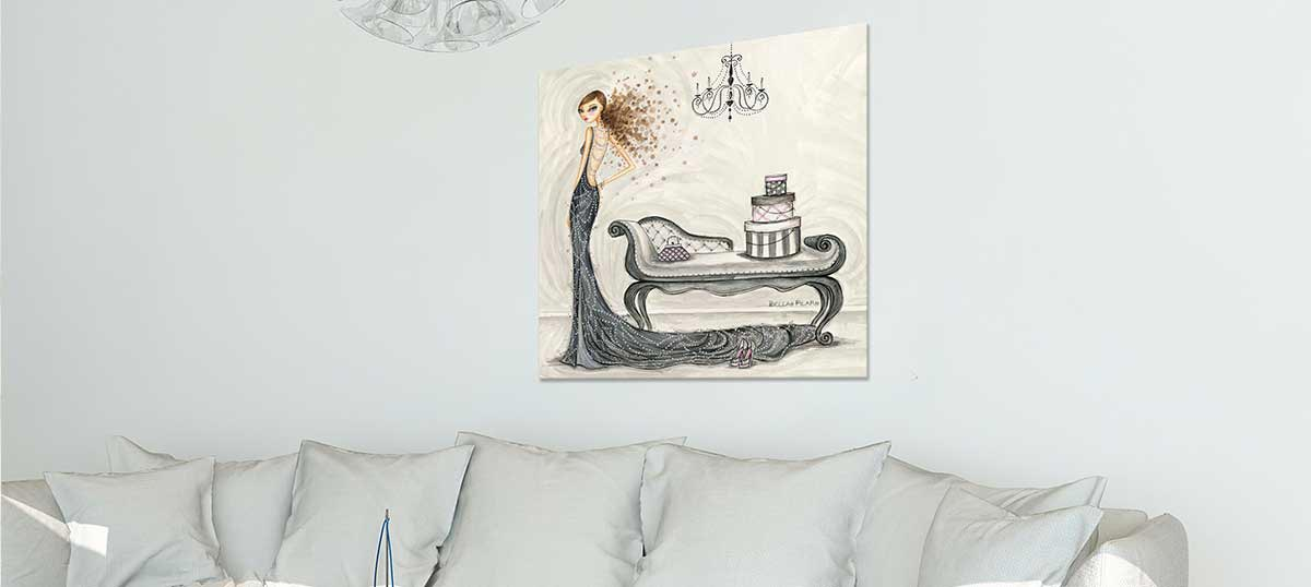 Giant Fashion Art  Canvas Art