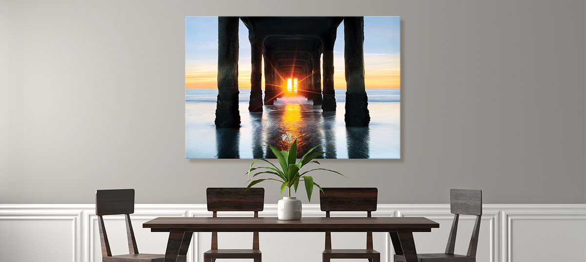 Golden Hour Canvas Artwork