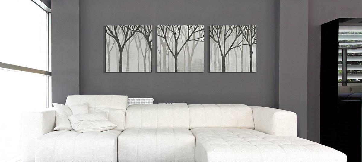 Gray Color Art Prints