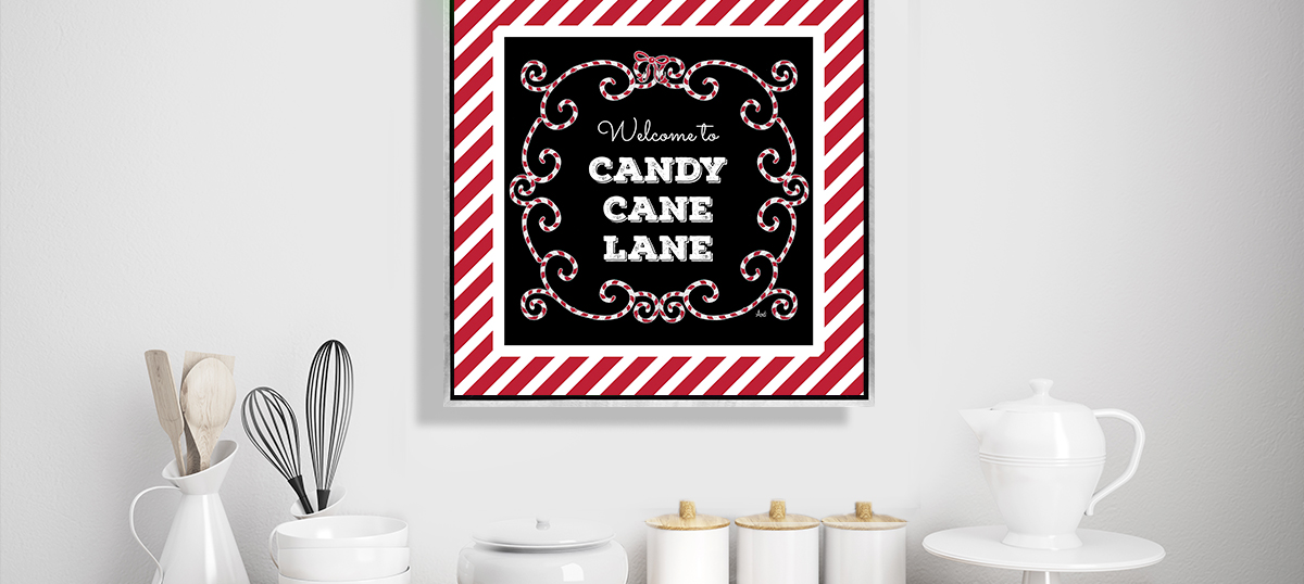 Holiday Eats & Treats Canvas Wall Art