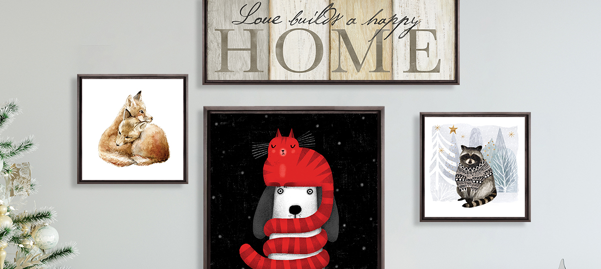 Home for the Holidays Canvas Prints