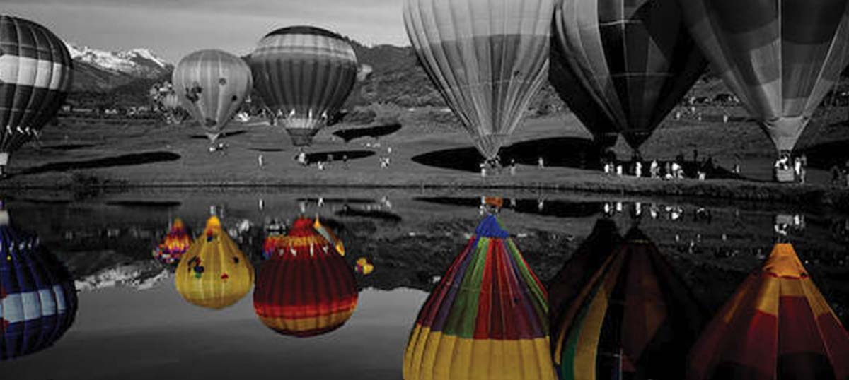 Hot Air Balloons Art Prints