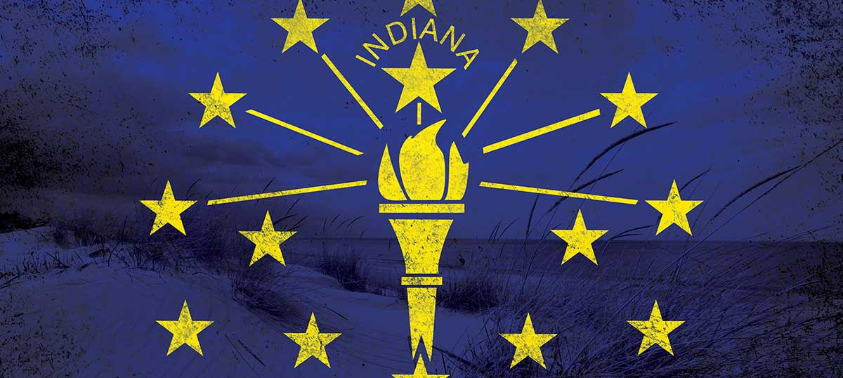 Indiana Canvas Prints