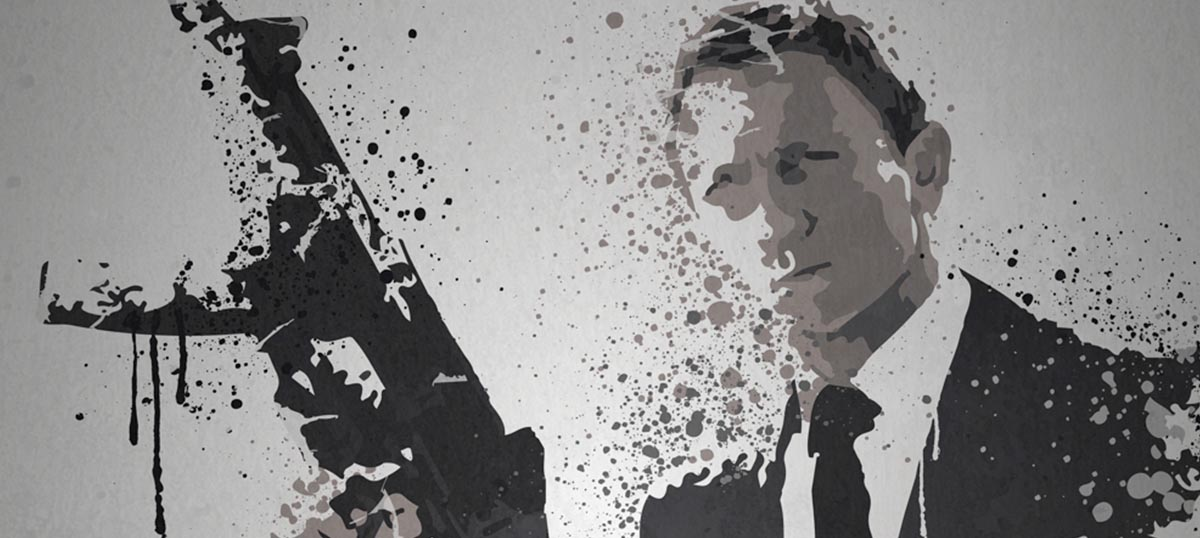 James Bond Canvas Art Prints