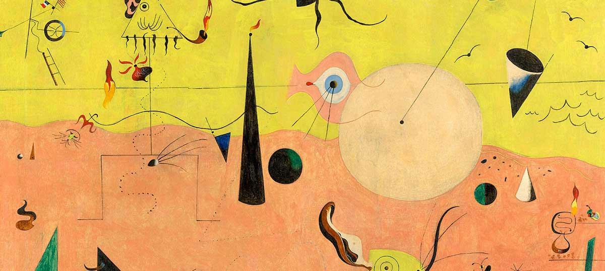 Joan Miro Canvas Art