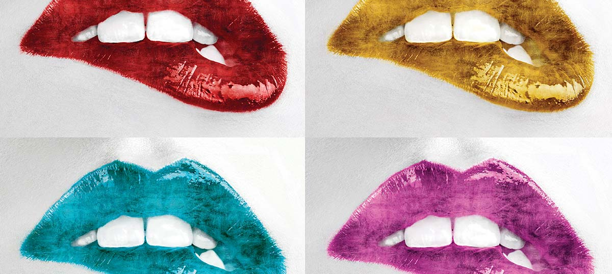 Lips Art Prints