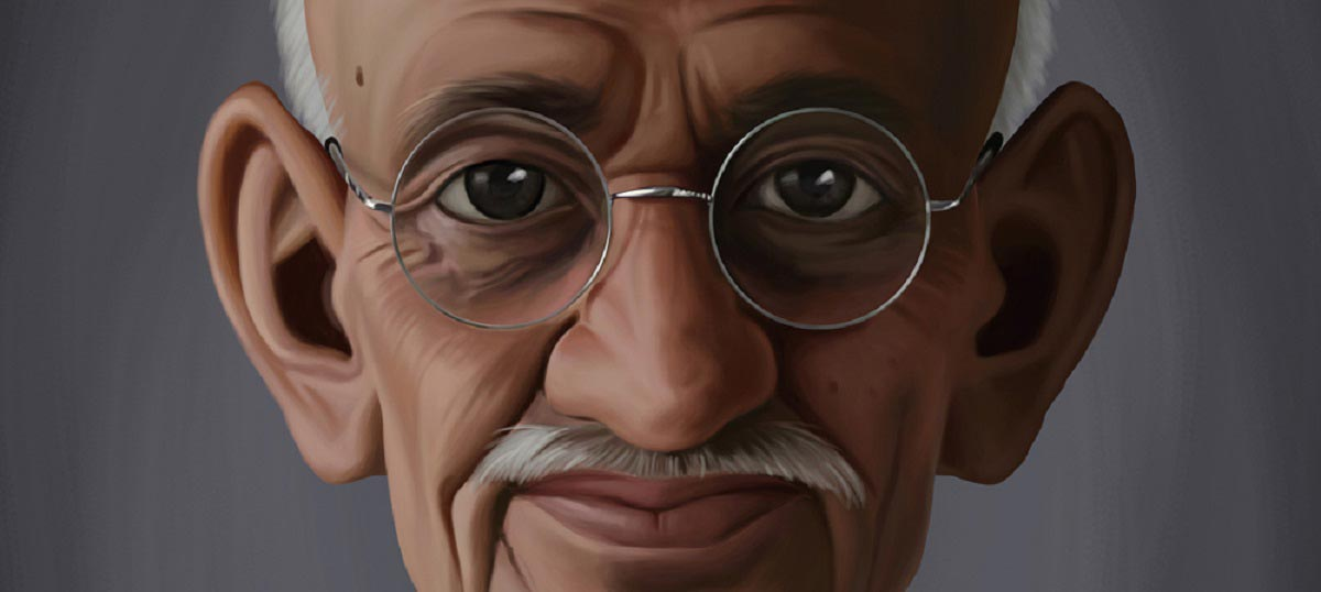 Mahatma Gandhi Canvas Art