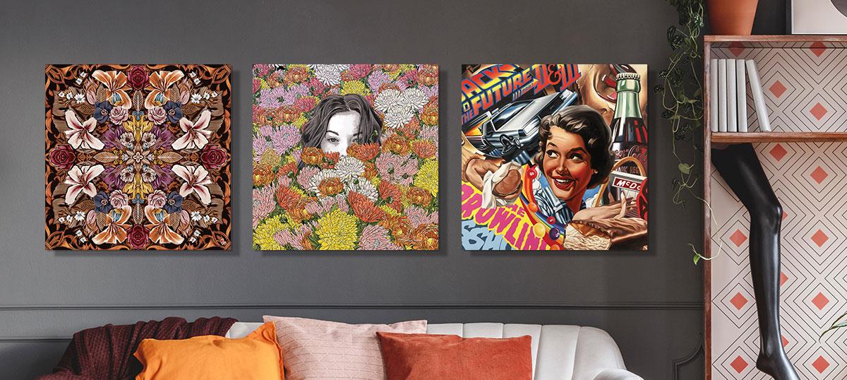 Maximalism Canvas Wall Art