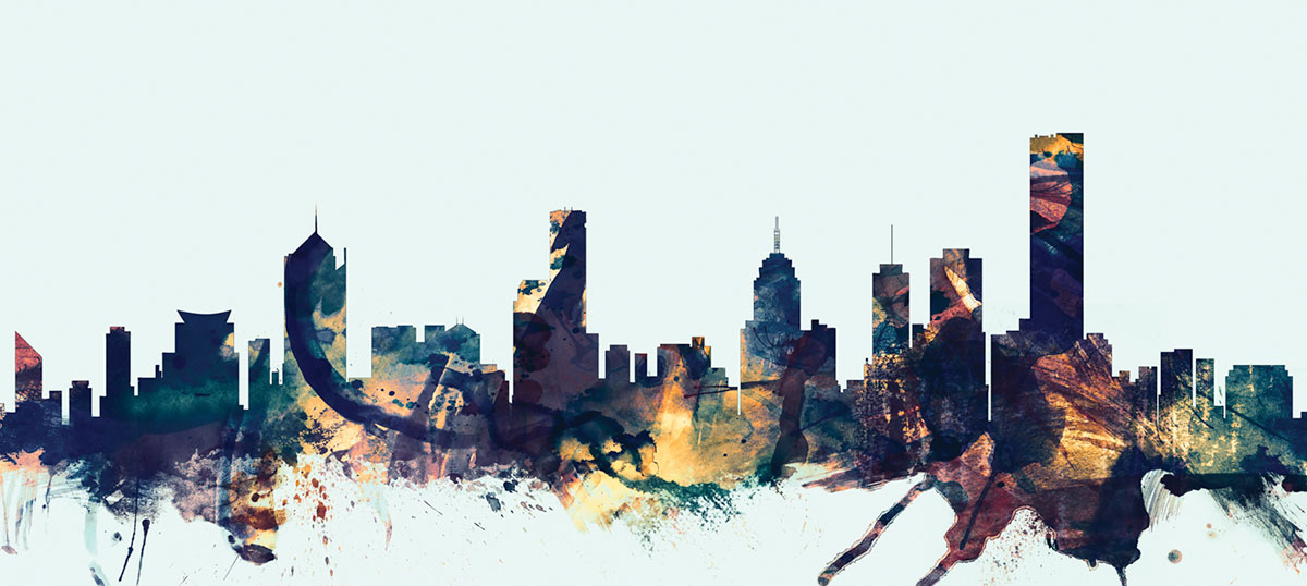 Melbourne Canvas Prints