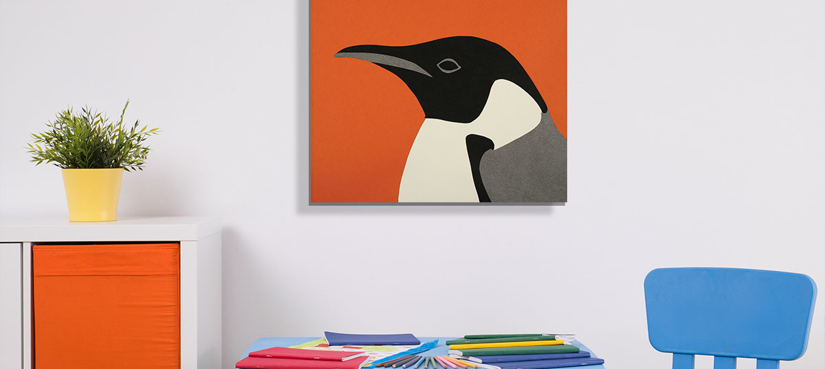 Minimalist Kids Art Canvas Art Prints