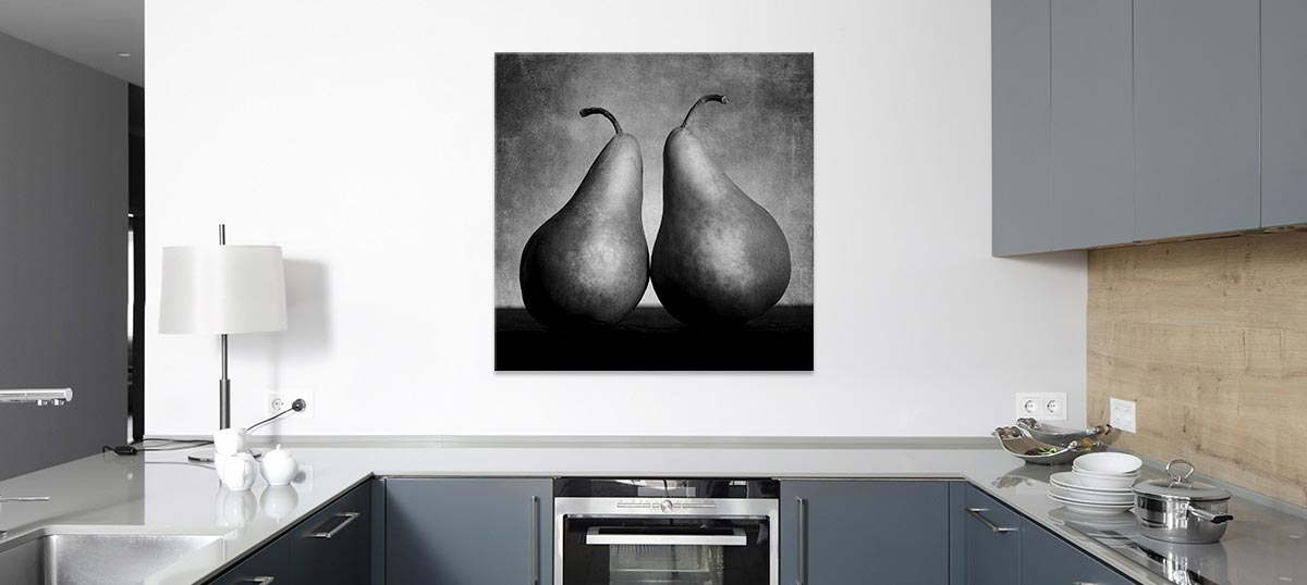 Minimalist Kitchen Canvas Art Prints
