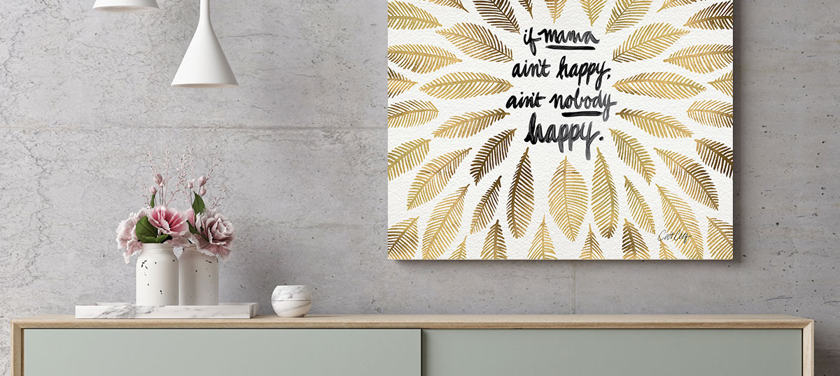 Mom Sayings Canvas Art