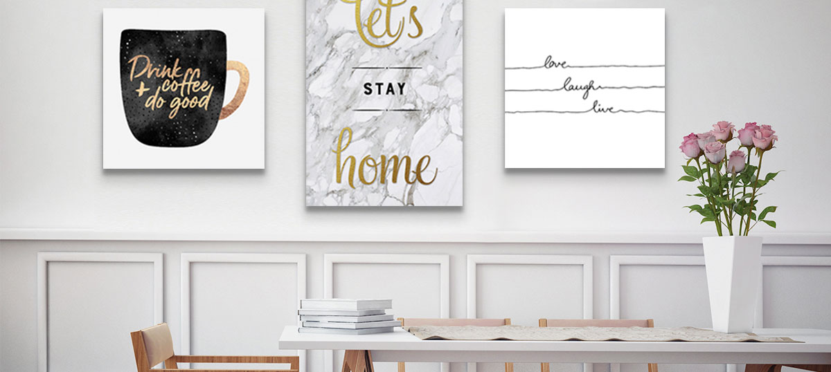 A Mom's Touch Canvas Wall Art