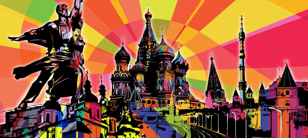 Moscow Canvas Wall Art