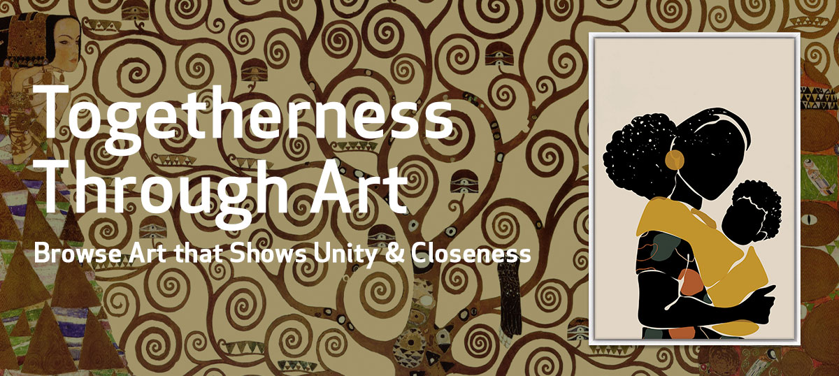 Togetherness Through Art Canvas Art Prints