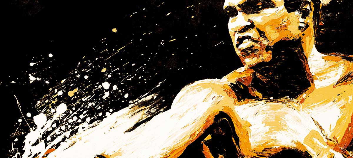 Muhammad Ali Canvas Art