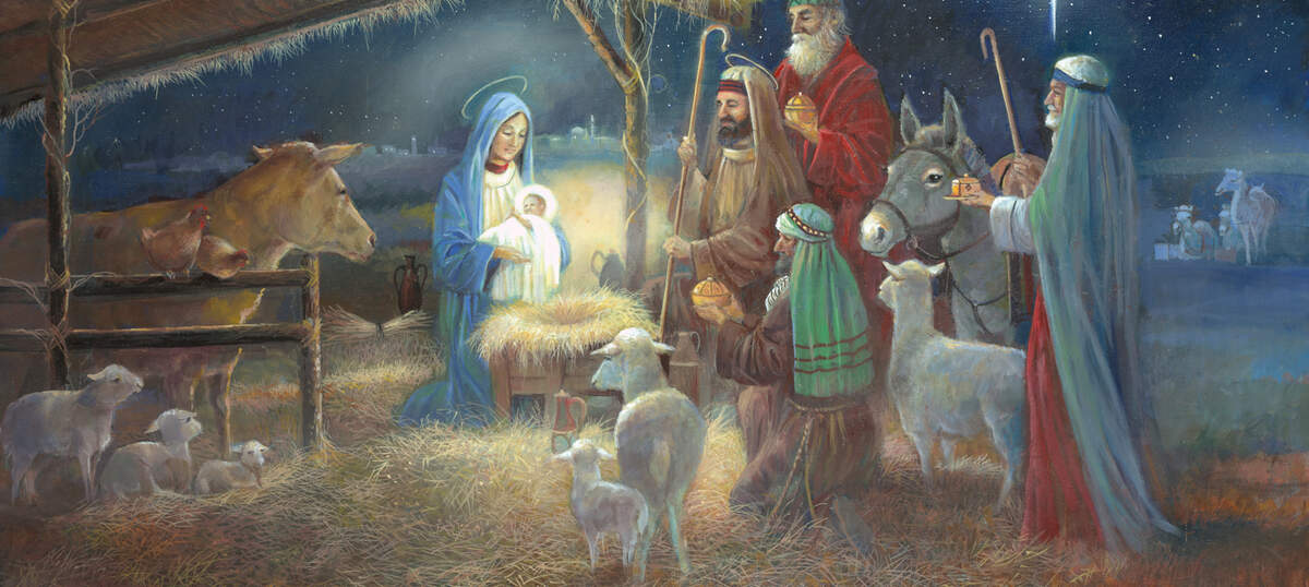 Nativity Scenes Canvas Prints