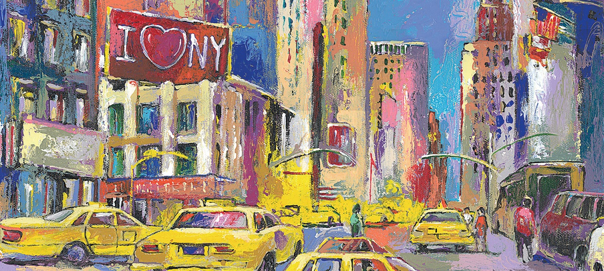 New York City Canvas Artwork