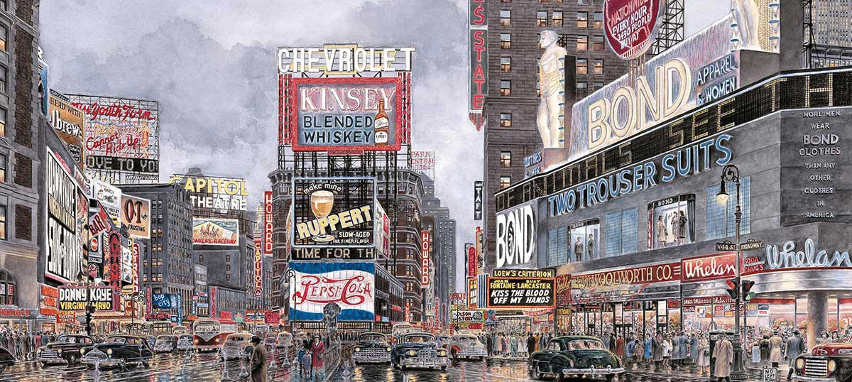 New York Canvas Art Prints