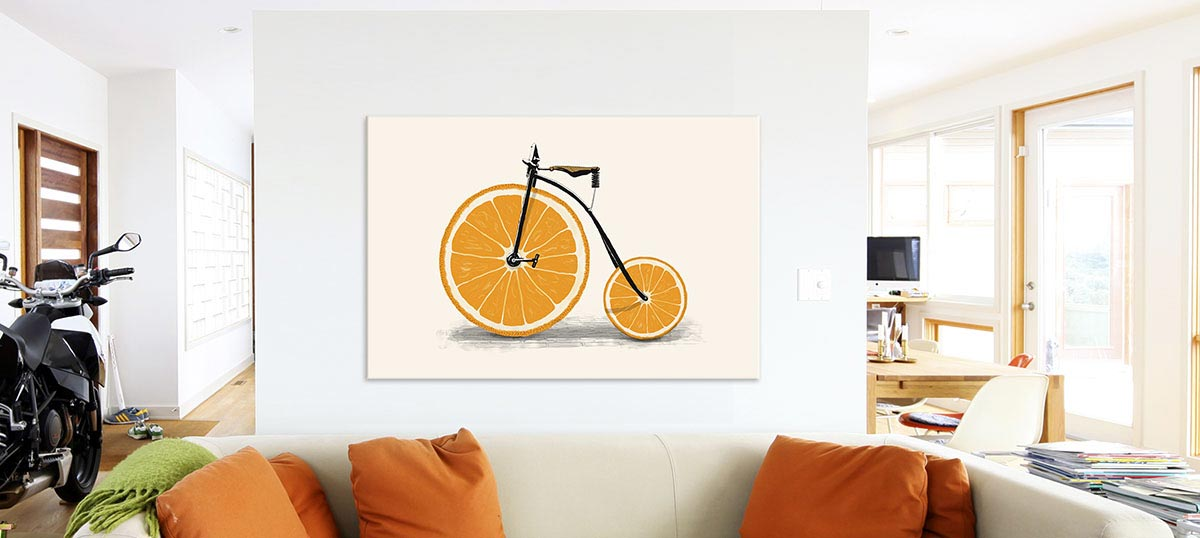 Orange Canvas Art Prints